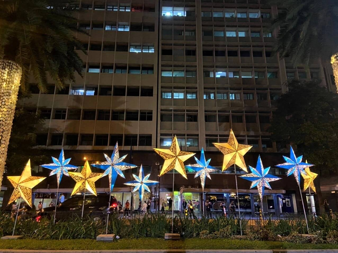 Ayala Avenue Lights Up to User in Brighter Days Ahead