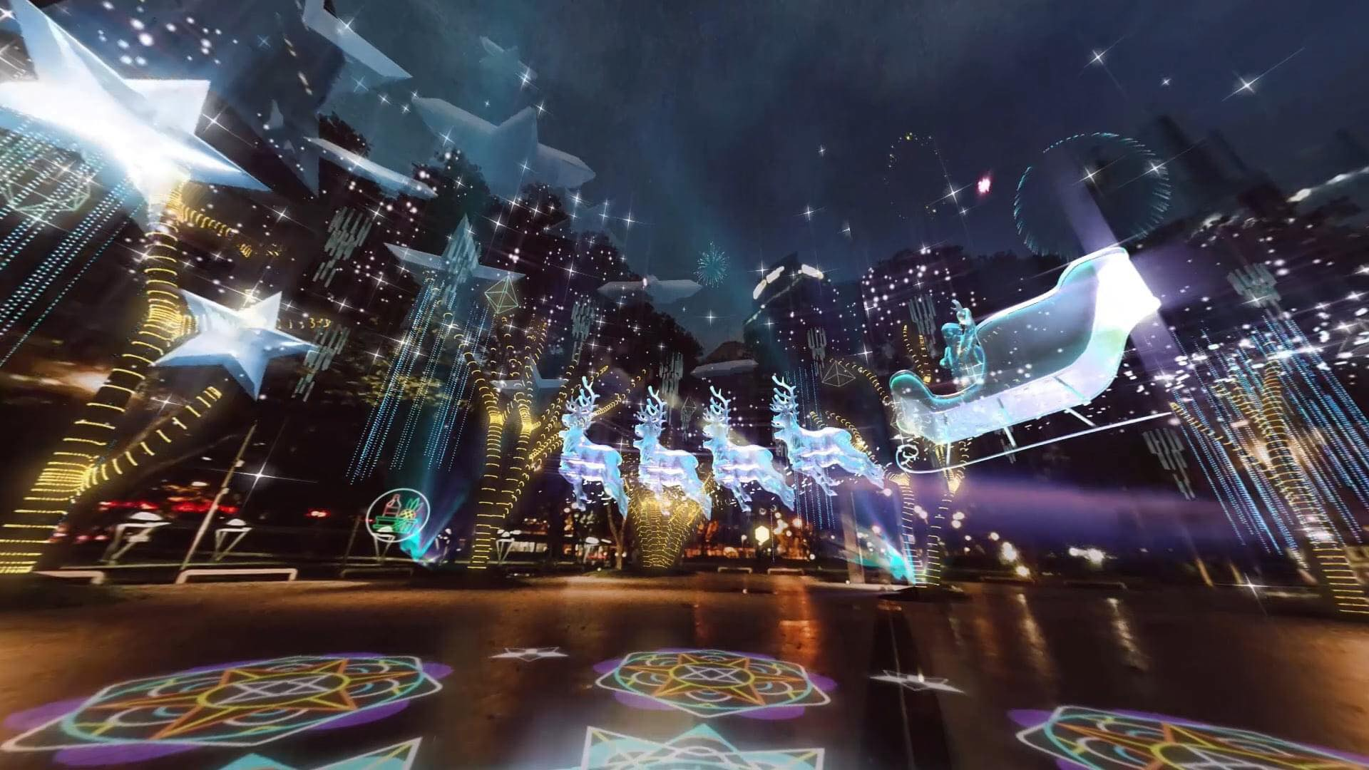 Ayala Land Sparks Up Hope for the Holidays with the Country's First Interactive Digital Lights and Sound Show